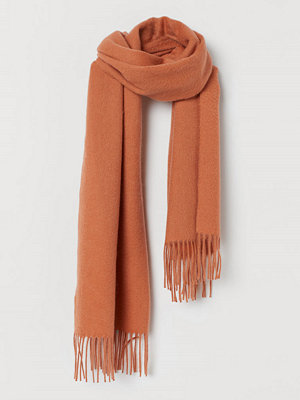 H&M Halsduk i ull orange