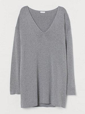 H&M V-ringad tröja grå