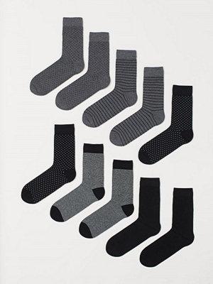 Strumpor - H&M 10-pack strumpor svart