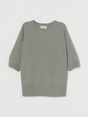 H&M Tröja i kashmir grön