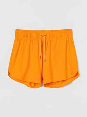 Shorts & kortbyxor - H&M Träningsshorts i mesh gul