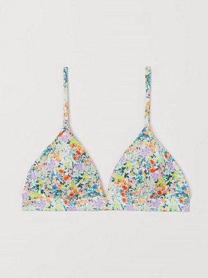 Bikini - H&M Vadderad trekantsbikini-bh rosa