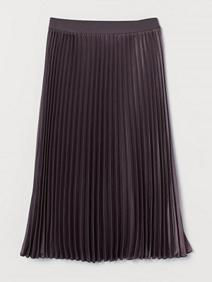 H&M Plisserad kjol lila