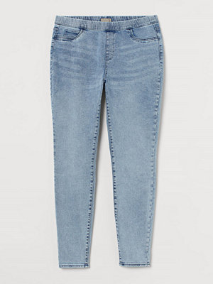 H&M H & M+ Skinny Regular Jeggings blå