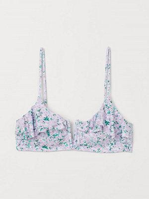 Bikini - H&M Vadderad bikini-bh lila