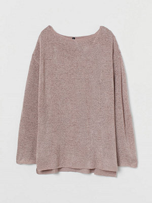 H&M Glesstickad tröja brun