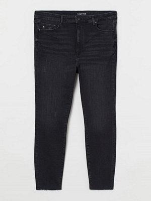 Jeans - H&M H & M+ Shaping High Jeans svart