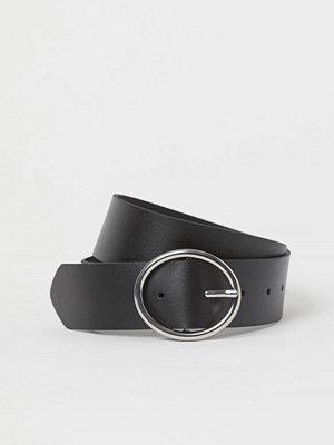 H&M Brett skärp svart