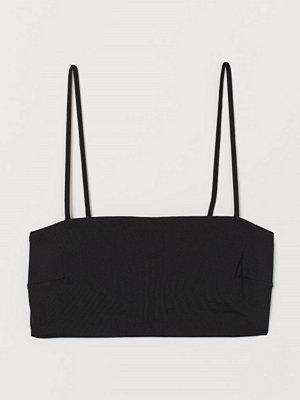 Bikini - H&M Vadderad bikinitopp svart