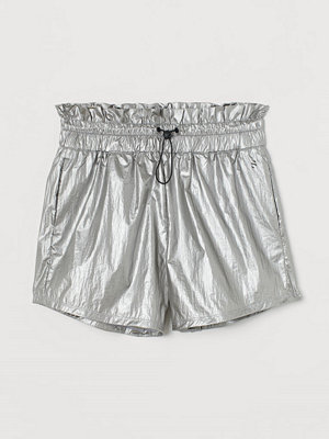 H&M Träningsshorts High Waist grå