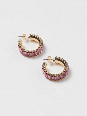 H&M Runda örhängen rosa