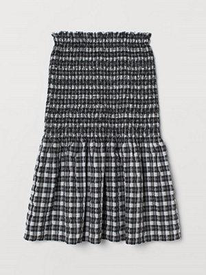 H&M Smockad kjol svart