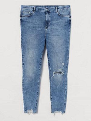Jeans - H&M H & M+ Embrace Shape Ankle Jeans blå