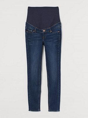 Jeans - H&M MAMA Skinny Jeans blå