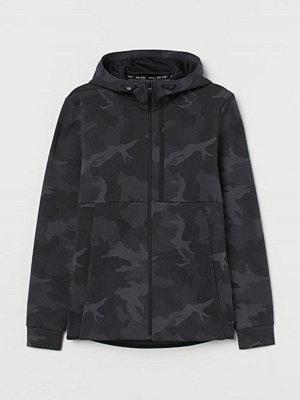 Street & luvtröjor - H&M Sportjacka Regular Fit svart