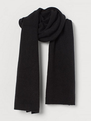 H&M Scarf i kashmir svart