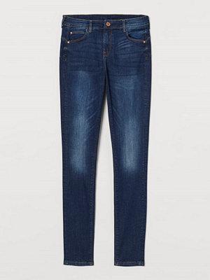 Jeans - H&M Push up Jeggings blå