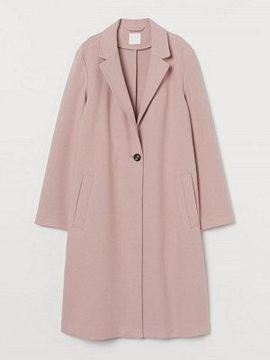 H&M Enkelknäppt kappa rosa