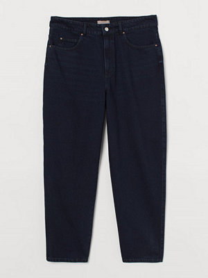 H&M H & M+ Tapered High Jeans blå