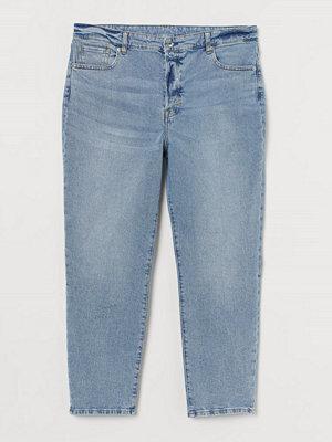 H&M H & M+ Mom High Jeans blå