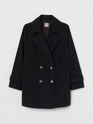H&M H & M+ Kort kappa svart