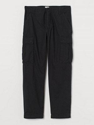 H&M Cargobyxa Regular Fit svart