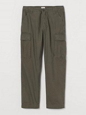 H&M Cargobyxa Regular Fit grön