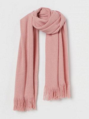H&M Halsduk med fransar rosa