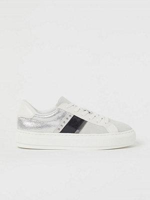 H&M Sneakers i mockaimitation beige