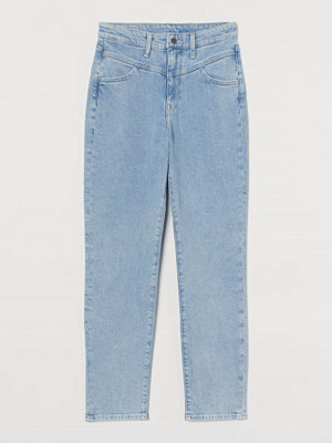 Jeans - H&M Mom Ultra High Ankle Jeans blå