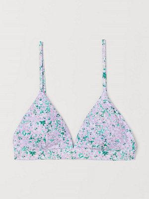 Bikini - H&M Vadderad trekantsbikini-bh lila