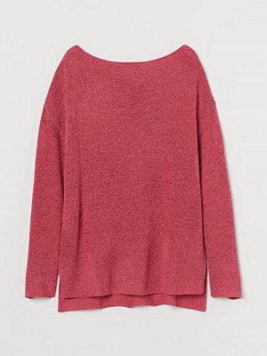 H&M Glesstickad tröja rosa
