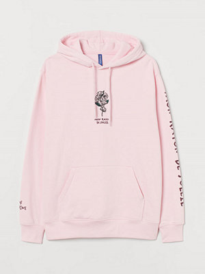 Street & luvtröjor - H&M Huvtröja rosa
