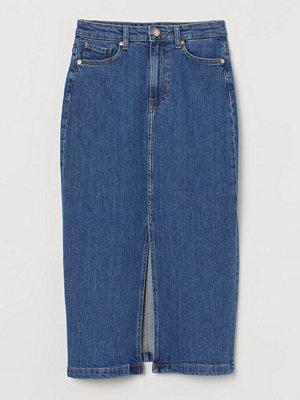 H&M Pennkjol i denim blå