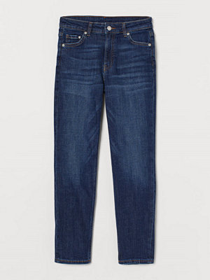 H&M Girlfriend Regular Ankle Jeans blå