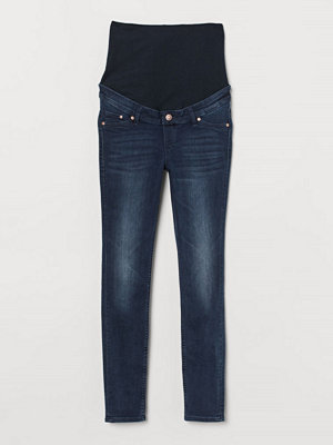 Jeans - H&M MAMA Skinny Jeans blå