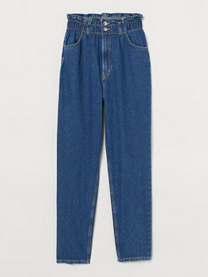 Jeans - H&M Tapered High Ankle Jeans blå