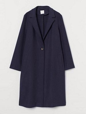 H&M Enkelknäppt kappa blå
