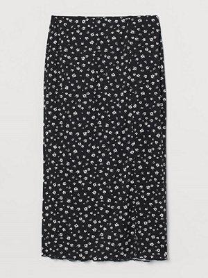 H&M Meshkjol med slits svart