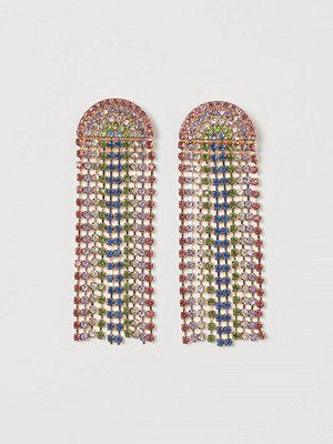 H&M Strassörhängen rosa