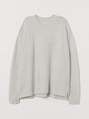 H&M Stickad tröja brun