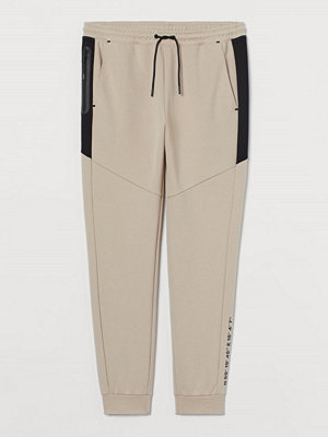 H&M Joggers Skinny Fit beige
