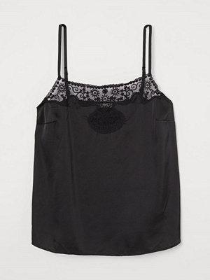 H&M Spetstopp svart