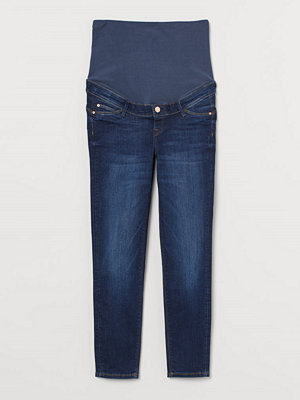 Jeans - H&M MAMA Push Up Ankle Jeggings blå