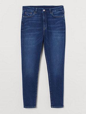 H&M H & M+ Embrace High Ankle Jeans blå