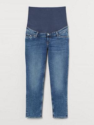 H&M MAMA Vintage Straight Jeans blå