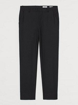 H&M Dressad byxa Regular Fit svart