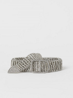 H&M Strasskärp silver