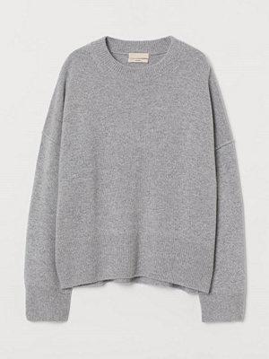 H&M Tröja i kashmir grå