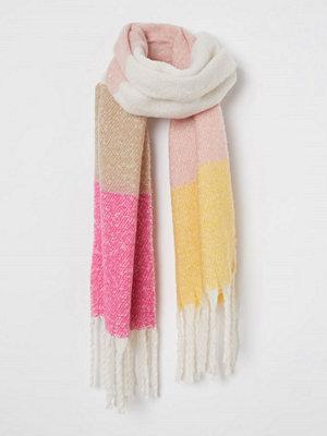 H&M Borstad scarf rosa